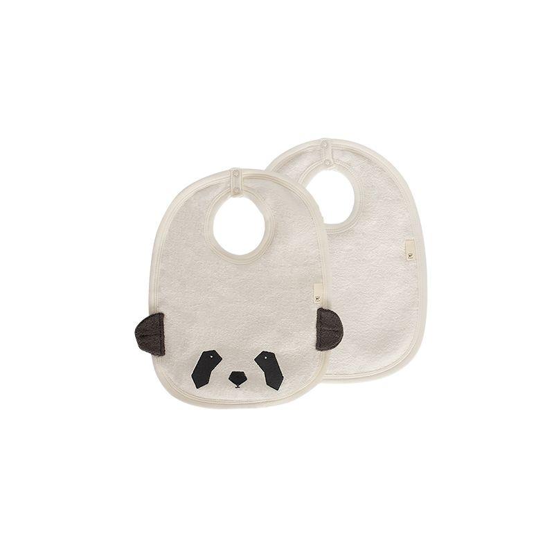 Set Baberos Impermeables Grandes Panda