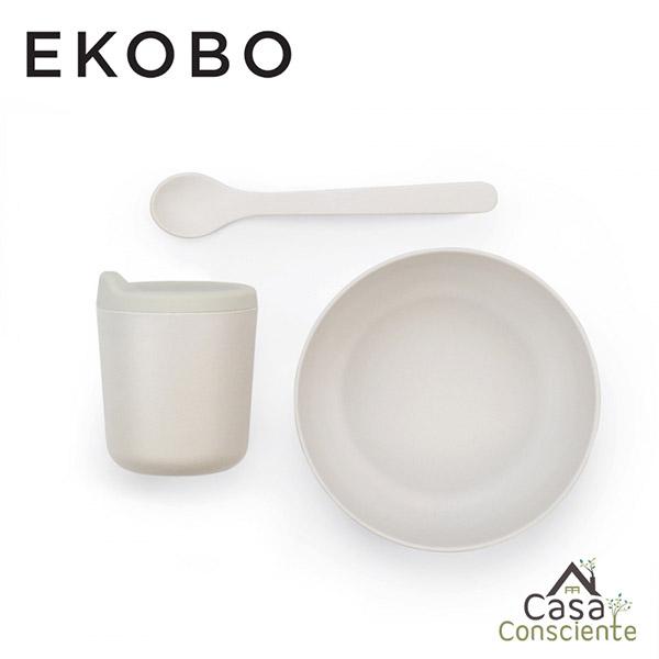 Ekobo Set Completo Alimentación Bebé - Nube